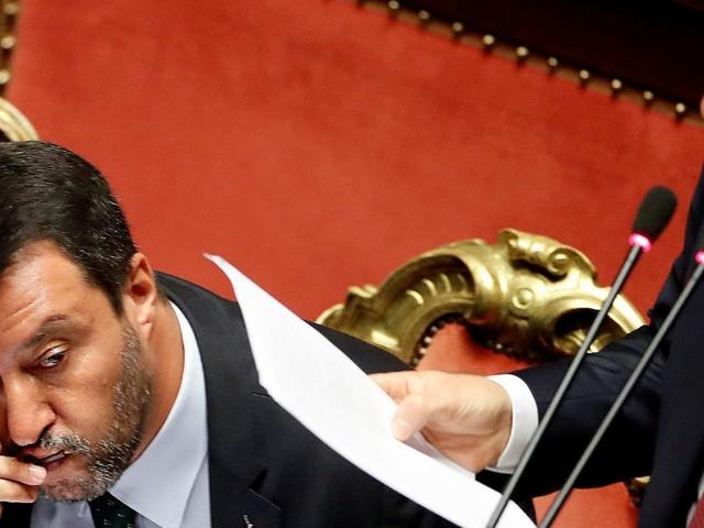 Mes, Salvini ha ragione e Conte ha torto. Si nota dallo sguardo