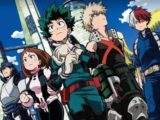 My Hero Academia, l'anime nei cinema solo il 23 e 24 marzo