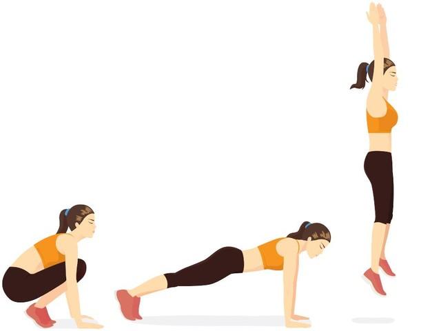 Burpees: a cosa servono, muscoli coinvolti ed esecuzione dell'esercizio