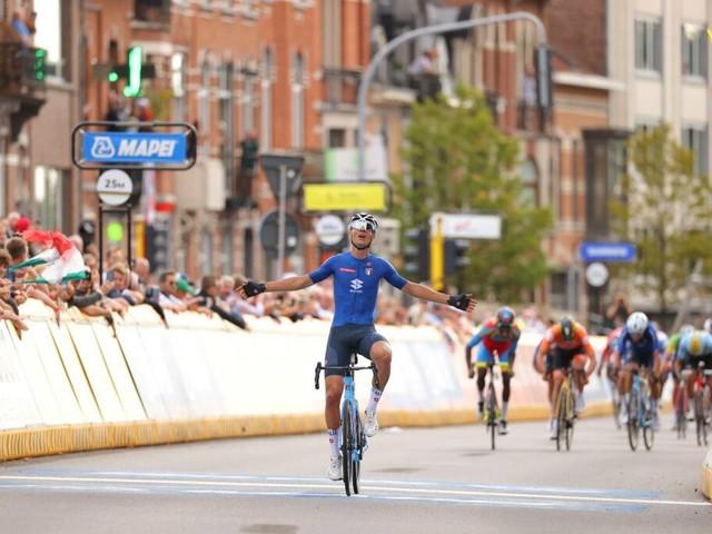 Mondiali di ciclismo, Filippo Baroncini conquista il titolo fra gli Under 23