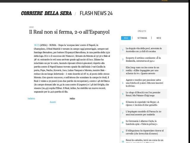 Il Real non si ferma, 2-0 all'Espanyol