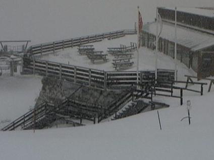 Piogge e abbondanti nevicate in quota Alto pericolo piene e valanghe- Foto