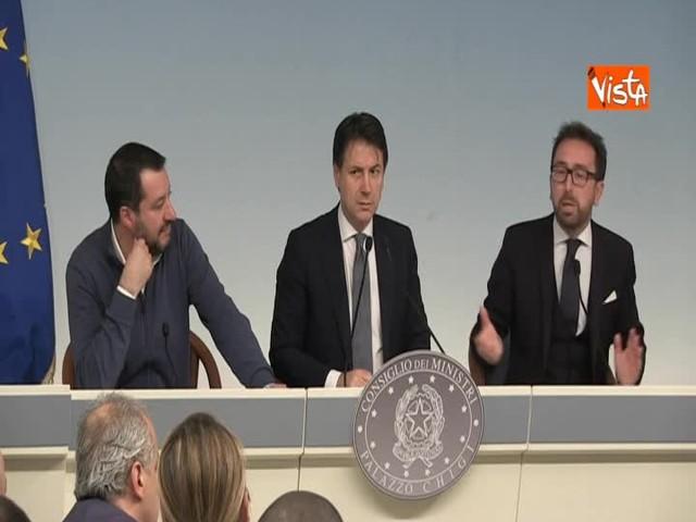 """Anticorruzione, Bonafede: """"Non c'è nessuna norma 'Salva Lega' """""""