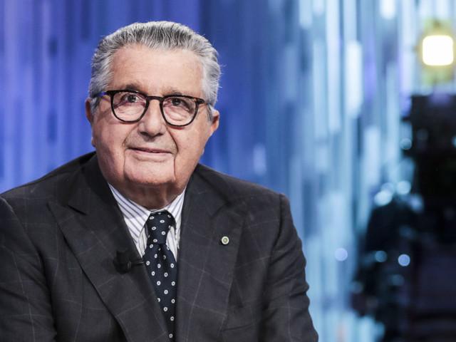 """Carlo De Benedetti a Otto e Mezzo: """"La riforma delle popolari era un segreto di Pulcinella, mai parlato con la Boschi"""""""