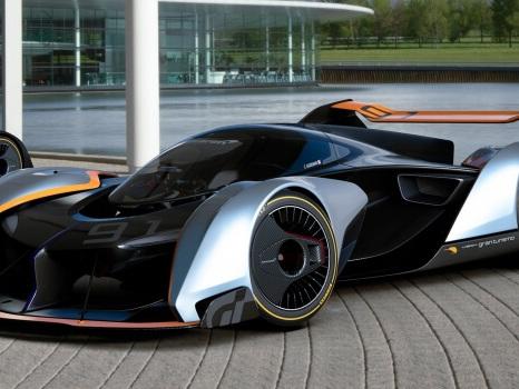 McLaren Ultimate Vision Gran Turismo, giocare con 1.150 CV