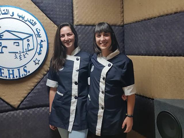 """Maria Stella e Bianca, infermiere trentine in Siria: """"Sentiamo le bombe qui vicino"""""""