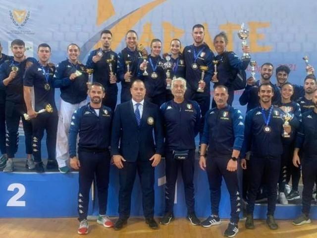 Grande Italia al Campionato del Mediterraneo: 14 medaglie. Bottaro oro nel kata