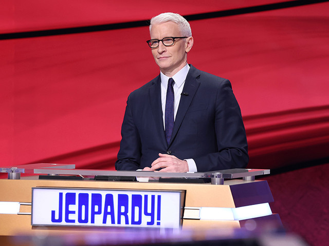 Anderson Cooper Starting His Turn As 'Jeopardy!' Guest Host; 'A Dream Come True'