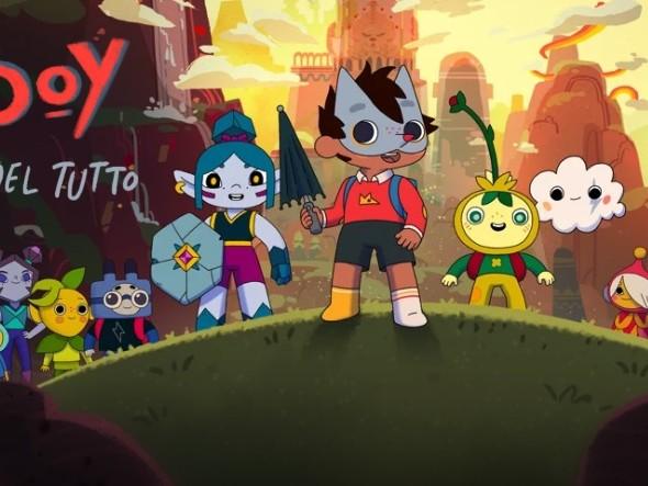 """""""Wolfboy e la fabbrica del tutto"""", una nuova serie animata su Apple TV+"""