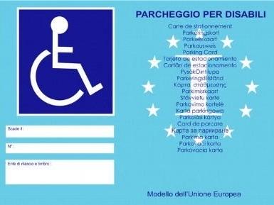Contrassegno invalidi: cos'è e come funziona