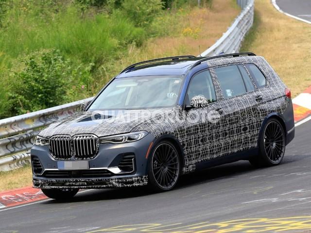 BMW X7 - Primi collaudi per la versione Alpina