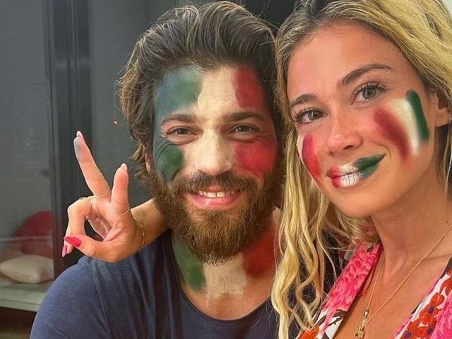 Can Yaman mette a tacere le voci di screzi con Diletta con una dedica: 'Un amore italiano'
