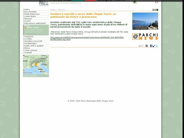 PN Cinque Terre - Sentieri e muretti a secco delle Cinque Terre: un patrimonio da vivere e preservare