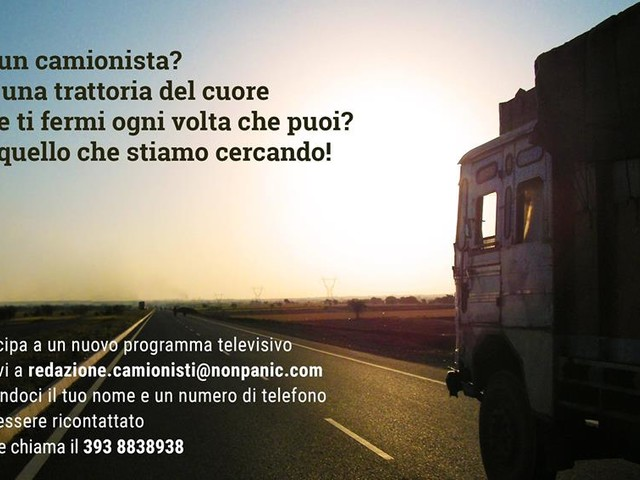 Camionisti, un format tv li arruola per una mappa delle migliori trattorie d'Italia