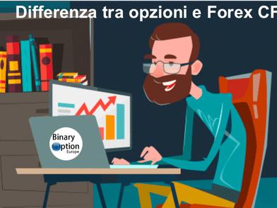 Differenza tra opzioni binarie e Forex Trading CFDpiattaforme di trading