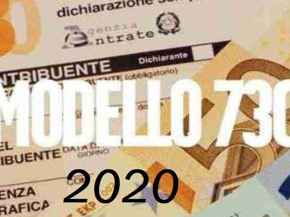 Modello 730 del 2020 compilabile editabile in pdf