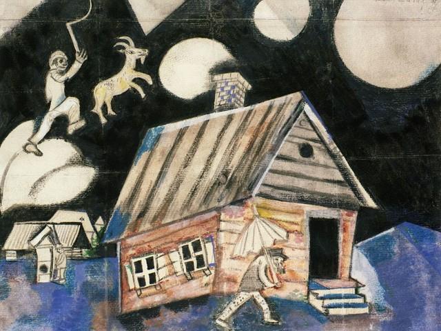 Il teatro secondo Chagall. A Mantova