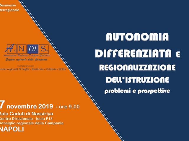 Autonomia e differenziazione