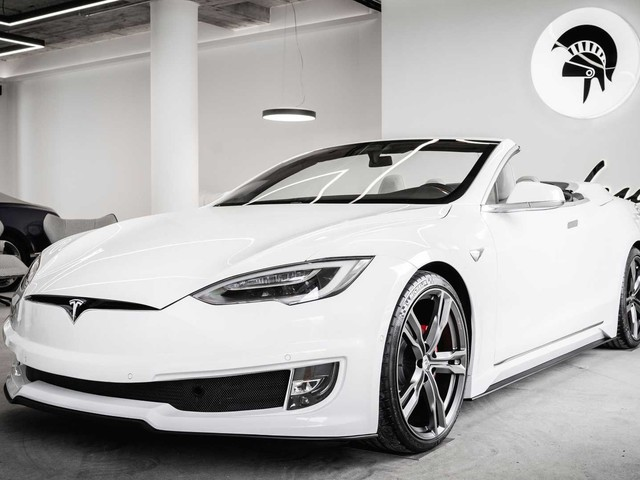 Tesla Model S Cabriolet, esemplare unico Made in Italy firmato Ares