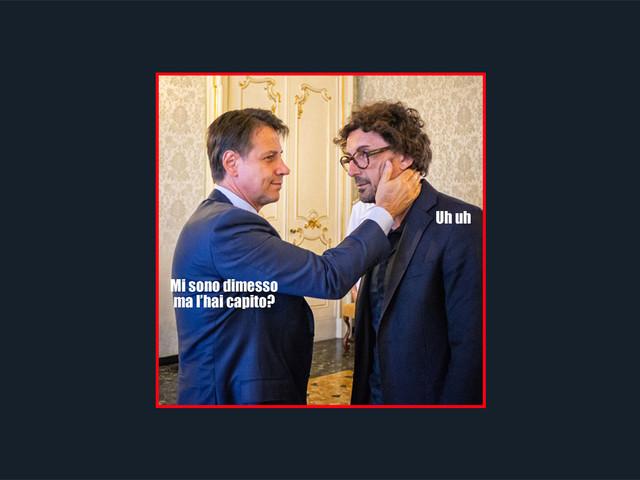 Il terribile meme della Lega su Toninelli (e questi sono gli statisti che vorrebbero andare al governo?)