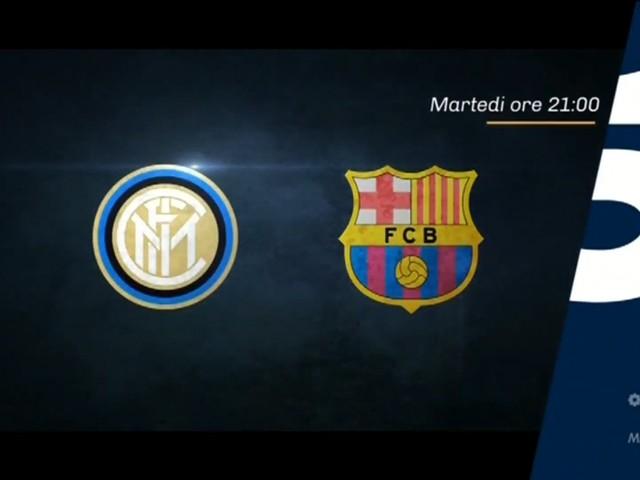 Champions, Inter - Barcellona stasera in chiaro su Canale 5