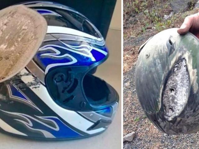 15 immagini che ci mostrano perché dovremmo indossare un casco ogni volta che andiamo in bici o in moto