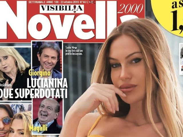 Novella 2000 oggi in edicola: ecco la copertina e le esclusive