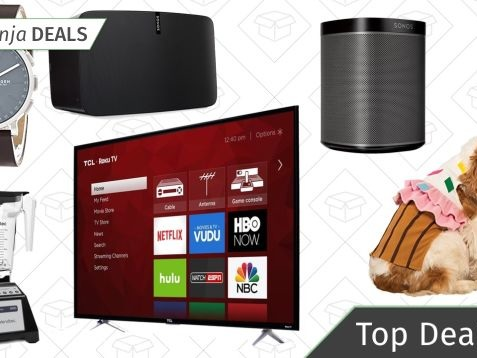 Monday's Top Deals: 4K TV, Sonos Speakers, Halloween Costumes, and More