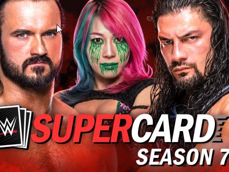 WWE SuperCard Season 7 in arrivo per iOS, dispositivi Android e Facebook Gaming