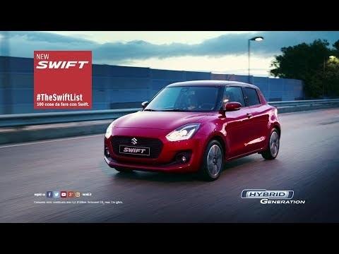 Canzone pubblicità Suzuki SWIFT 2017 list