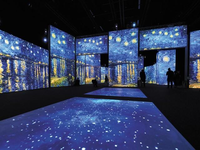 Van Gogh, la mostra immersiva a Zurigo per rivivere i suoi capolavori