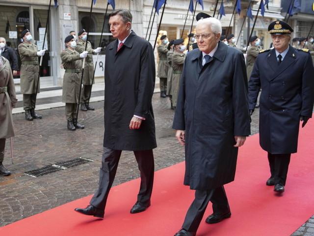 """Mattarella: """"Gorizia e Nova Gorica saranno la vetrina dell'autentico spirito europeo"""""""