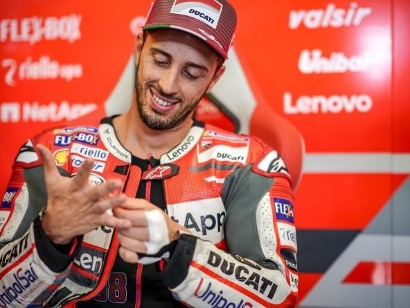 GP Aragon 2018, PL1: Dovizioso guida un poker Ducati