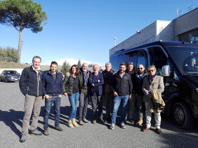 Rosignano Marittimo, i consiglieri comunali alla scoperta di Scapigliato
