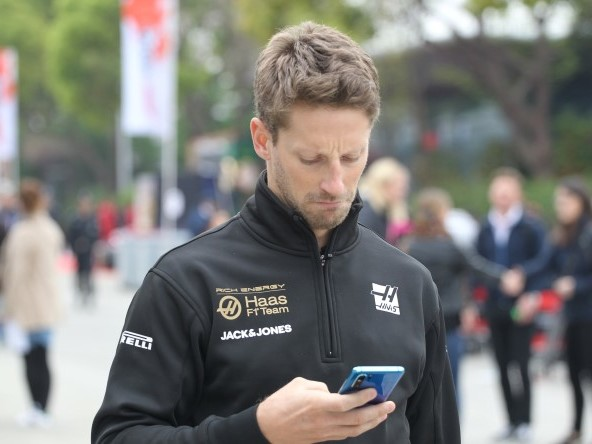 "Grosjean: ""In gara ci manca grip"""