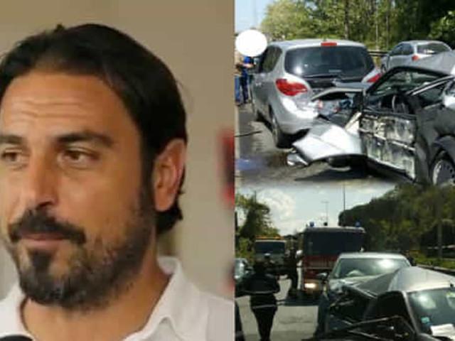Tamponamento mortale sulla Flaminia a Roma, indagato l'ex calciatore Stefano Fiore