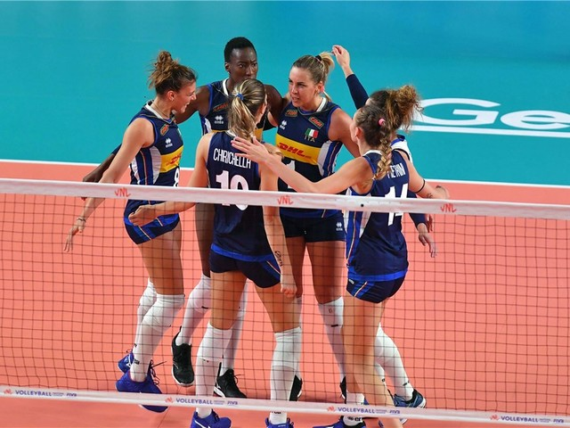 Italia-Russia volley femminile, Nations League 2019: orario d'inizio e come vederla in tv e streaming