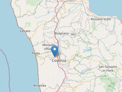 Terremoto di magnitudo di 4.4 in provincia di Cosenza. Gente in strada, nessun danno
