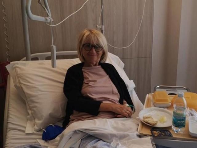 La Littizzetto finisce di nuovo in ospedale