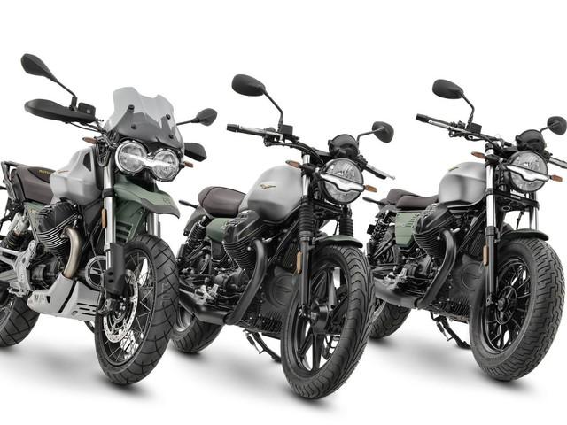 Livrea speciale celebrativa per i 100 anni di Moto Guzzi