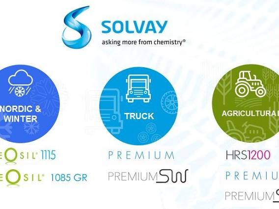 Solvay presenta le novità per pneumatici truck, agro e winter alla Tire Tech Expo