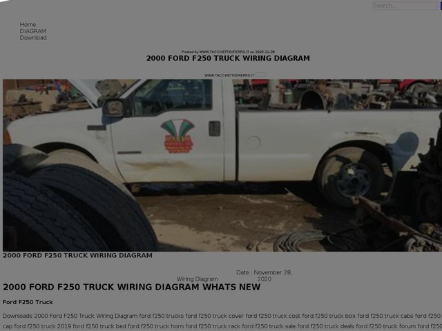 Ford F250 Truck Wiring Diagram
