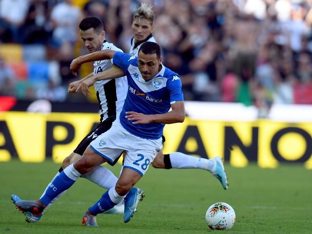 Il Brescia espugna Udine: 0-1 siglato da Romulo