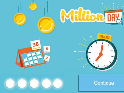 Estrazioni Million Day oggi 29 gennaio 2019: combinazione vincente