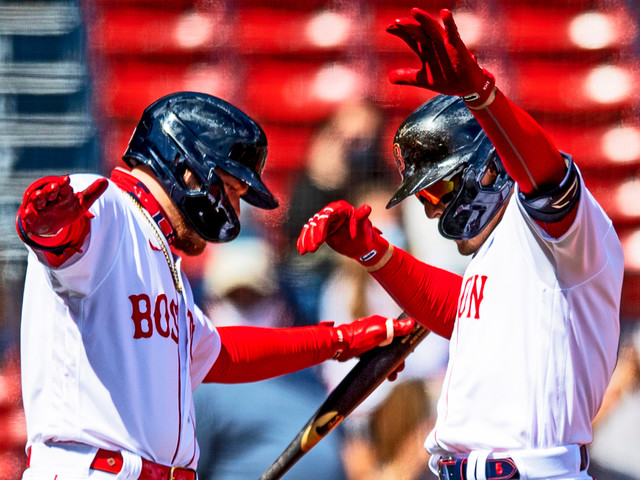 Red Sox Jump All Over Lucas Giolito With First-Inning Onslaught In Monday Matinee