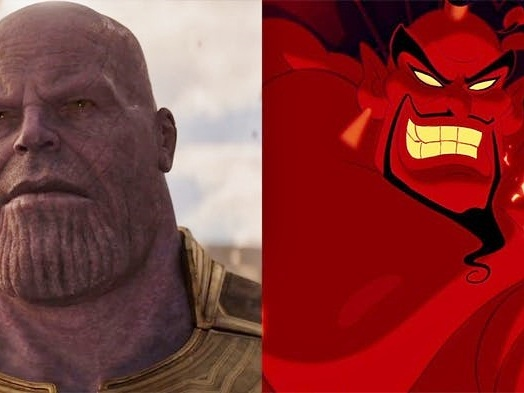 Avengers: Infinity War - il trailer mashup con i personaggi Disney