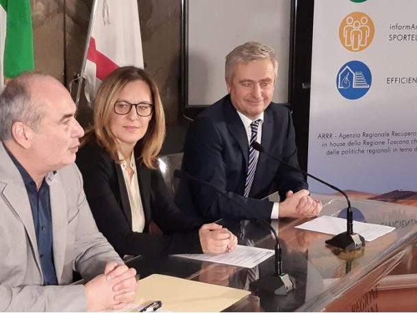 Accordo ARRR – Agenzia per l'Energia Alto Adige per CasaClima in Toscana