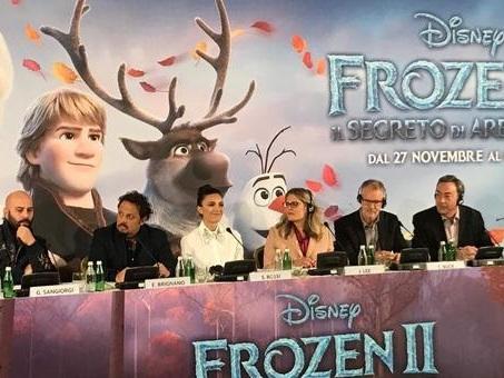 Frozen 2, Serena Rossi ed Enrico Brignano sono le voci italiane