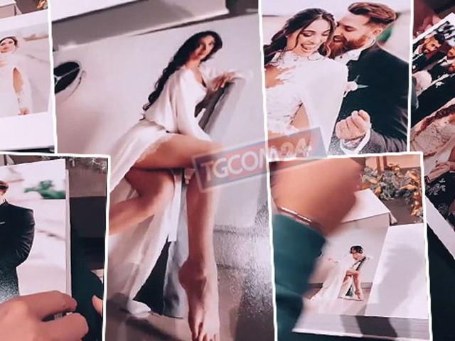 Lorella Boccia sfoglia l'album delle nozze, guarda i momenti più belli