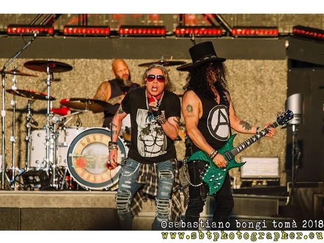 Guns N' Roses, fissata la prima data (americana) del 2020